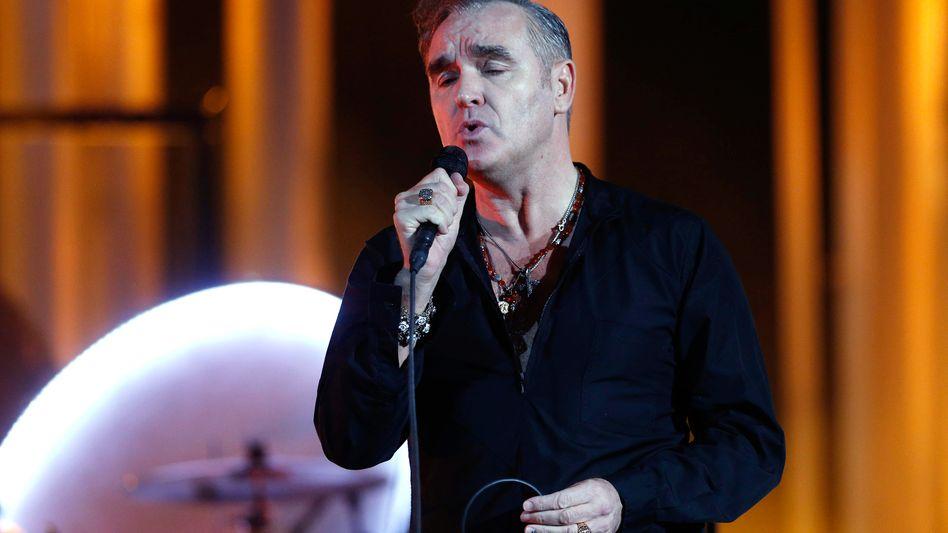 Morrissey (bei einem Auftritt 2013): Einmal mehr auf Labelsuche