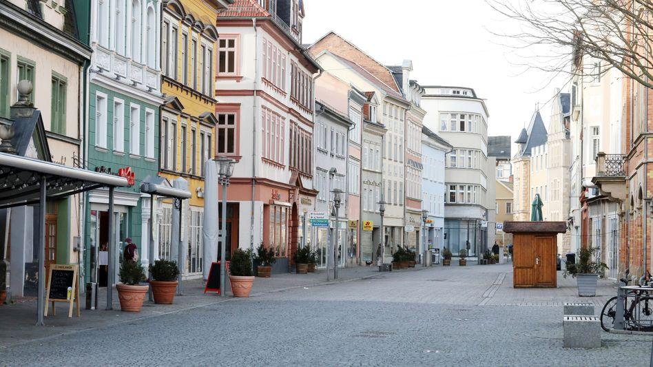 Leere Innenstadt in Thüringen: Sorge vor kommender Pleitewelle