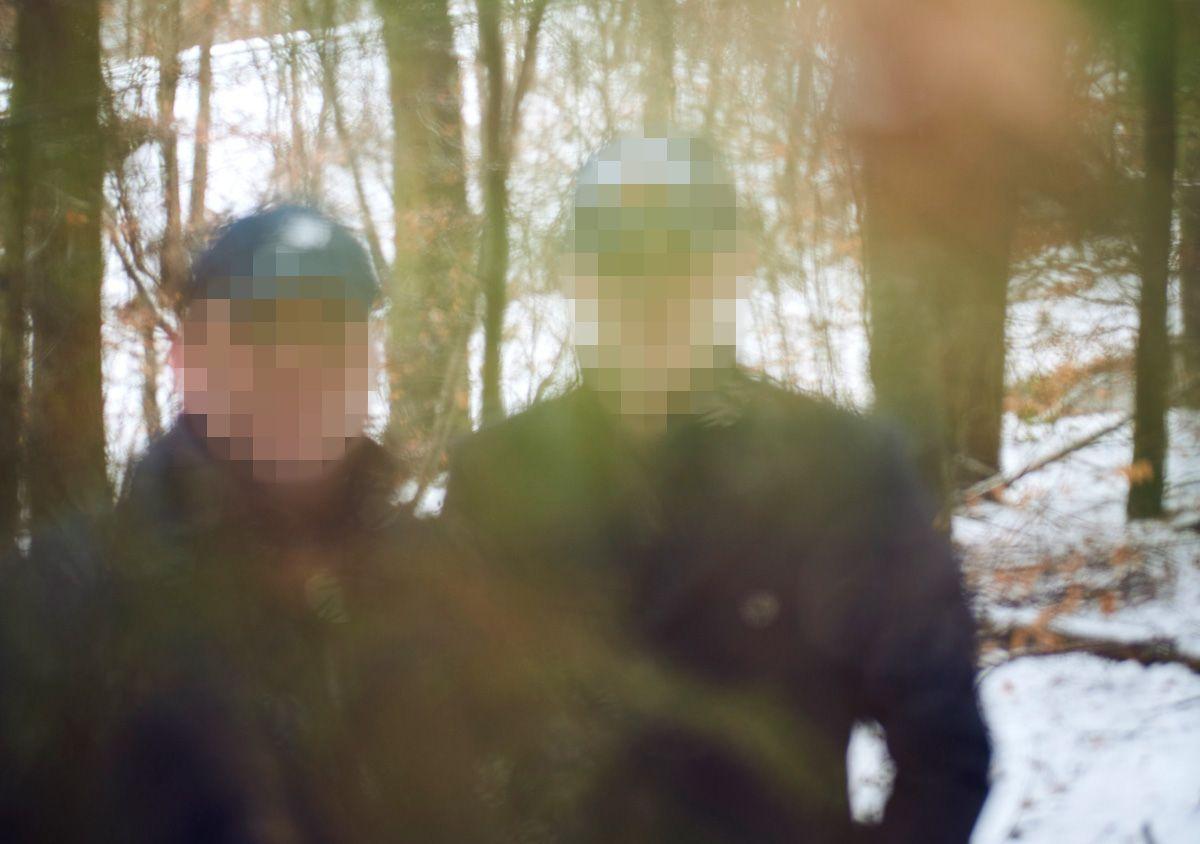 EINMALIGE VERWENDUNG Nato-Offiziere / Asyl