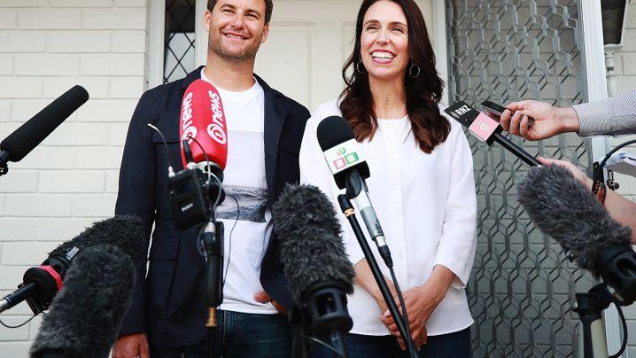 """Jacinda Ardern: """"Premierministerin UND eine Mama"""""""