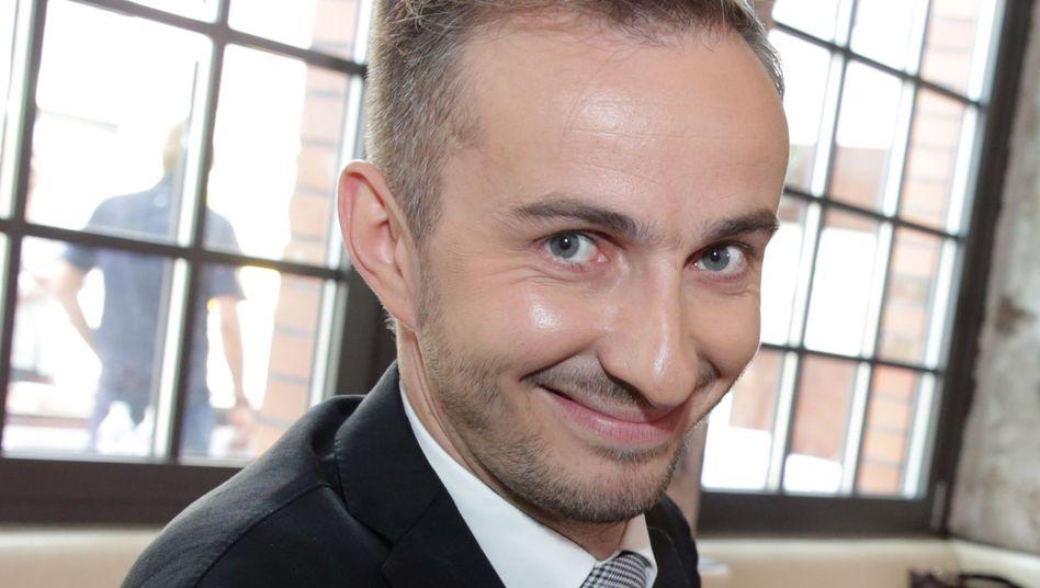 """Jan Böhmermann: Moderator des """"Neo Magazin Royale"""" im ZDF"""