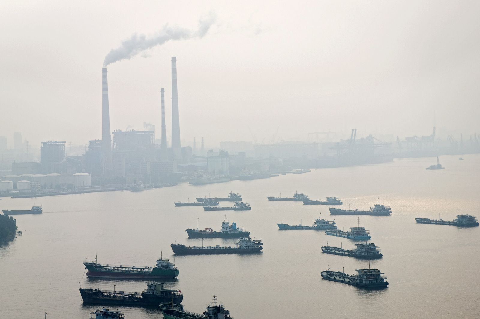 china rauchender schlot