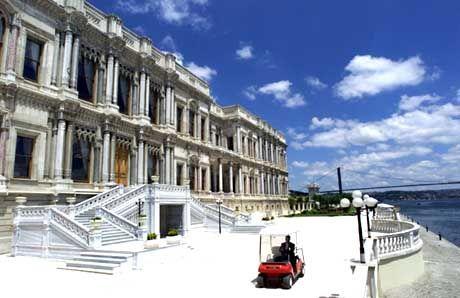 Ort der Feier: Das Luxushotel Ciragan Palace