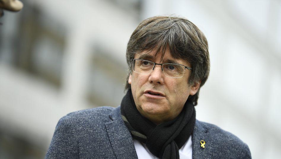 CarlesPuigdemont will weiter die Unabhängigkeit Kataloniens erreichen