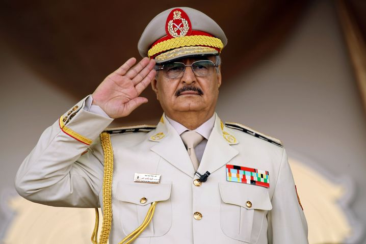 Khalifa Haftar is seeking to take control of all of Libya.