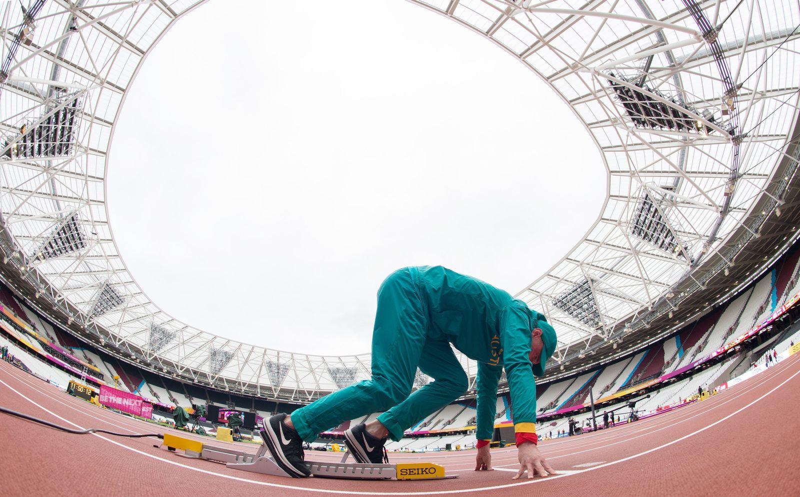 Leichtathletik-WM/ Vorbereitungen