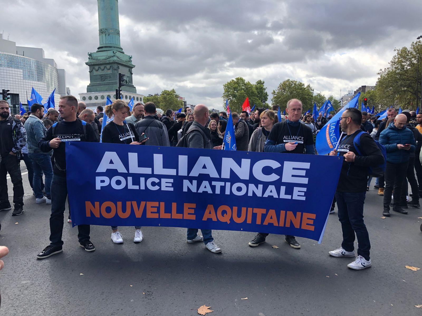 Frankreich/ Paris/ Polizei-Demonstration