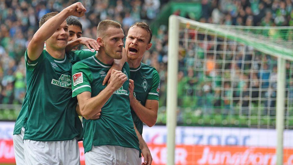 Erstes Spiel, erster Doppelpack: Marvin Ducksch ist Werders Hoffnung im Aufstiegsrennen