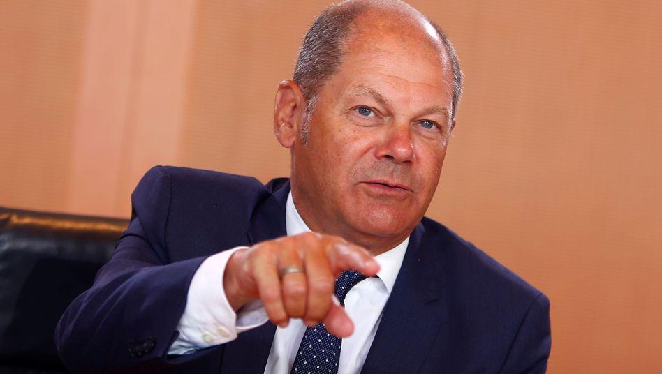 """SPD-Vizekanzler Olaf Scholz: """"Ein Klein-Klein in der Klimapolitik hilft nicht weiter"""""""