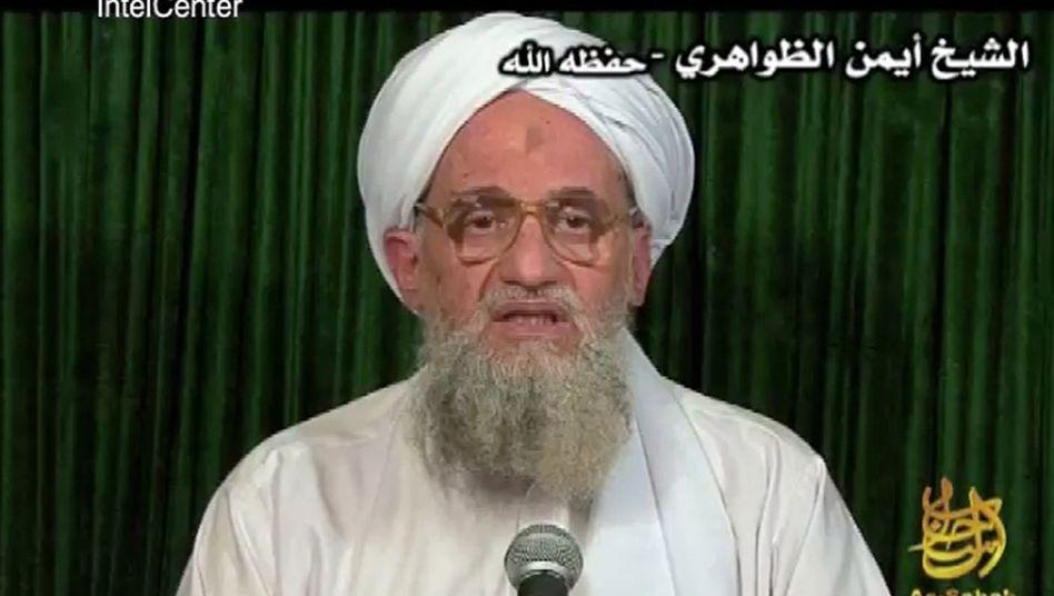 Qaida-Chef Aiman al-Sawahiri (undatiertes Archivbild): Berichte über Anschlagsorder per Telefon