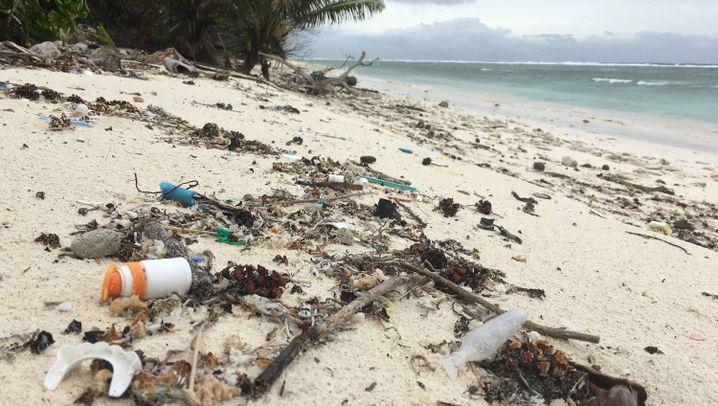 Kokosinseln: Sonne, Strand und Müll