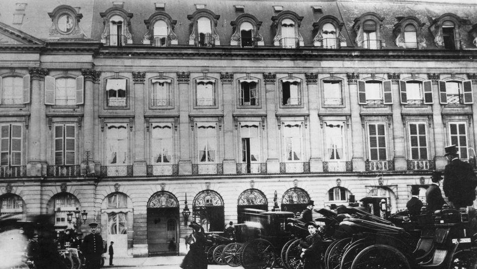 Das Pariser Ritz im Jahr 1904