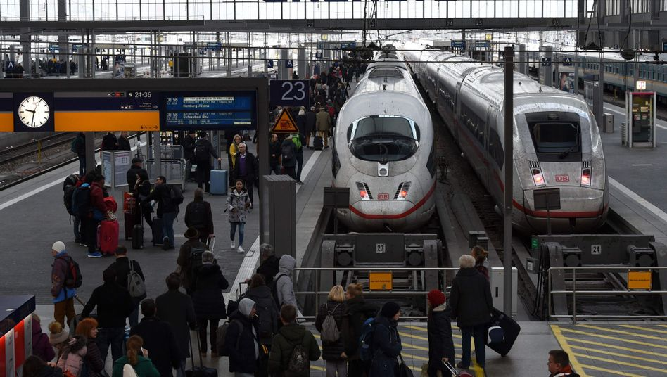 Hauptbahnhof in München