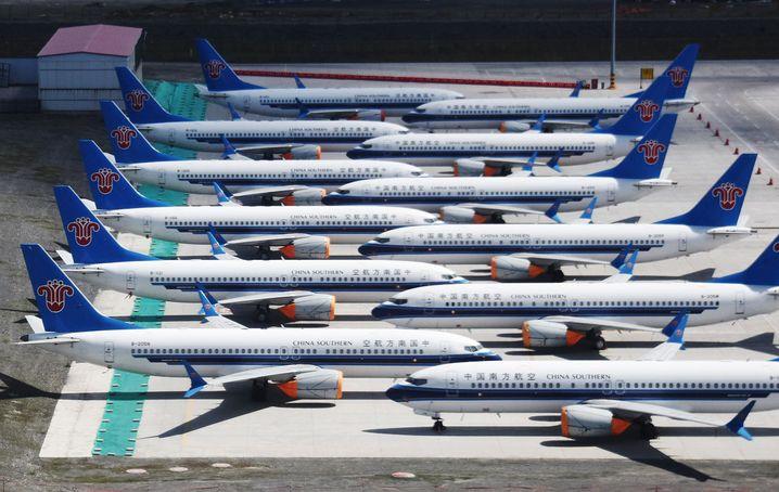Im Zentrum der Kritik: Boeings 737 Max