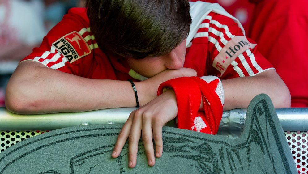 Koan Titel: Bayern-Fans betrauern die Niederlage im Champions-League Finale