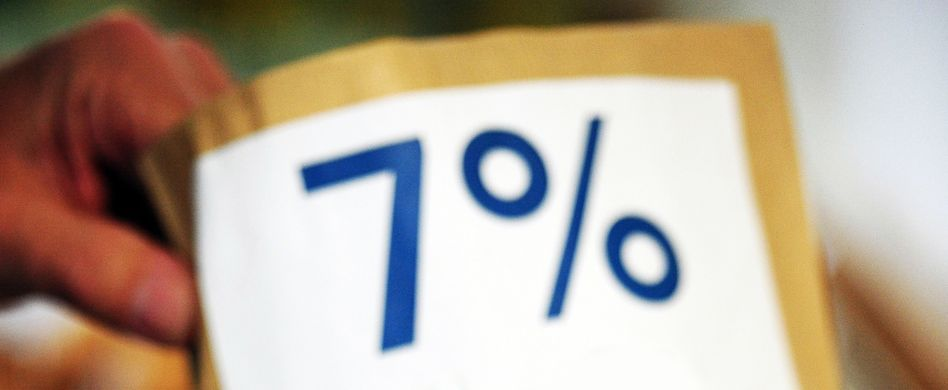 In Deutschland liegt der Mindeststeuersatz bei sieben Prozent