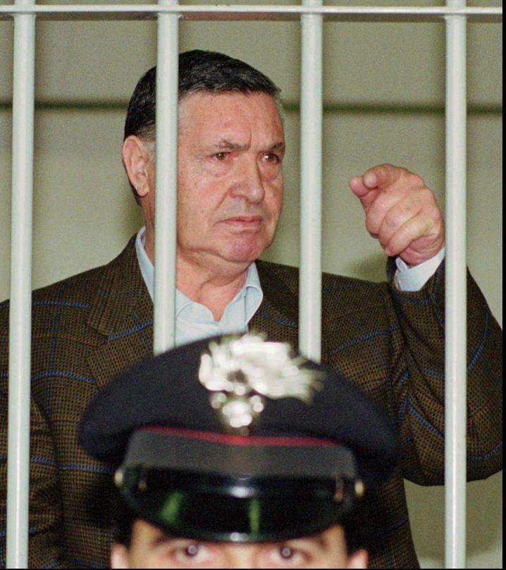 Strafprozess gegen Riina 1995 in Rom