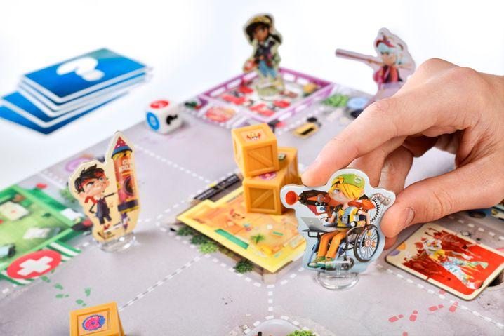 Ein Zombiespiel für Acht- bis Zehnjährige und ihre Familien: »Eine Prise Würfelglück rundet das jugendliche und mitreißende Spielerlebnis ab«