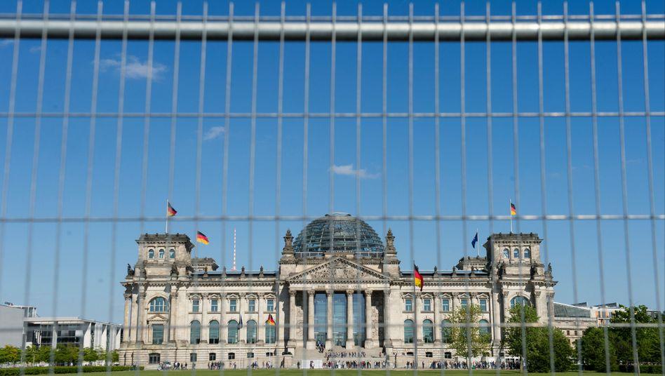 Reichstagsgebäude: Abschaltung des IT-Systems