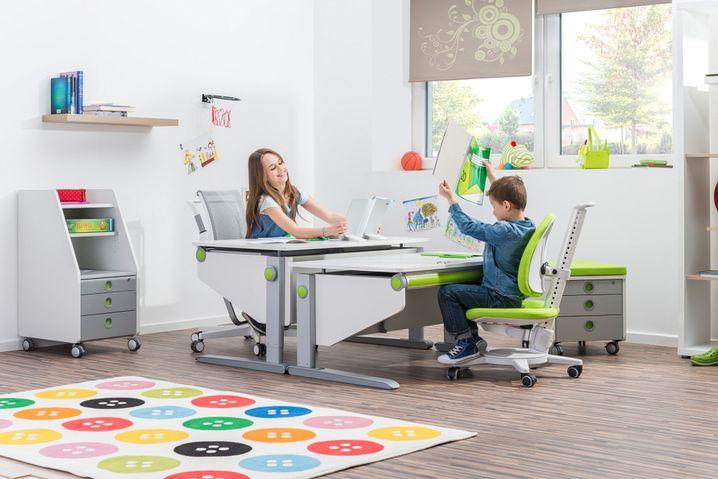 Schreibtischmöbel für Kinder müssen verstellbar sein, damit sie mitwachsen können