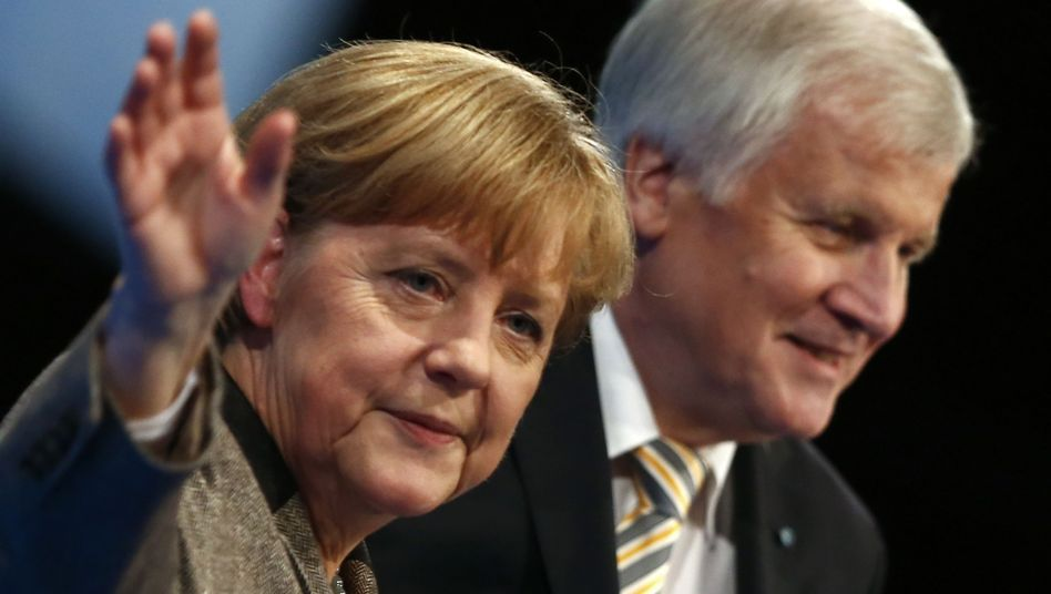 Charity means one thing to Angela Merkel, another to CSU leader Horst Seehofer.