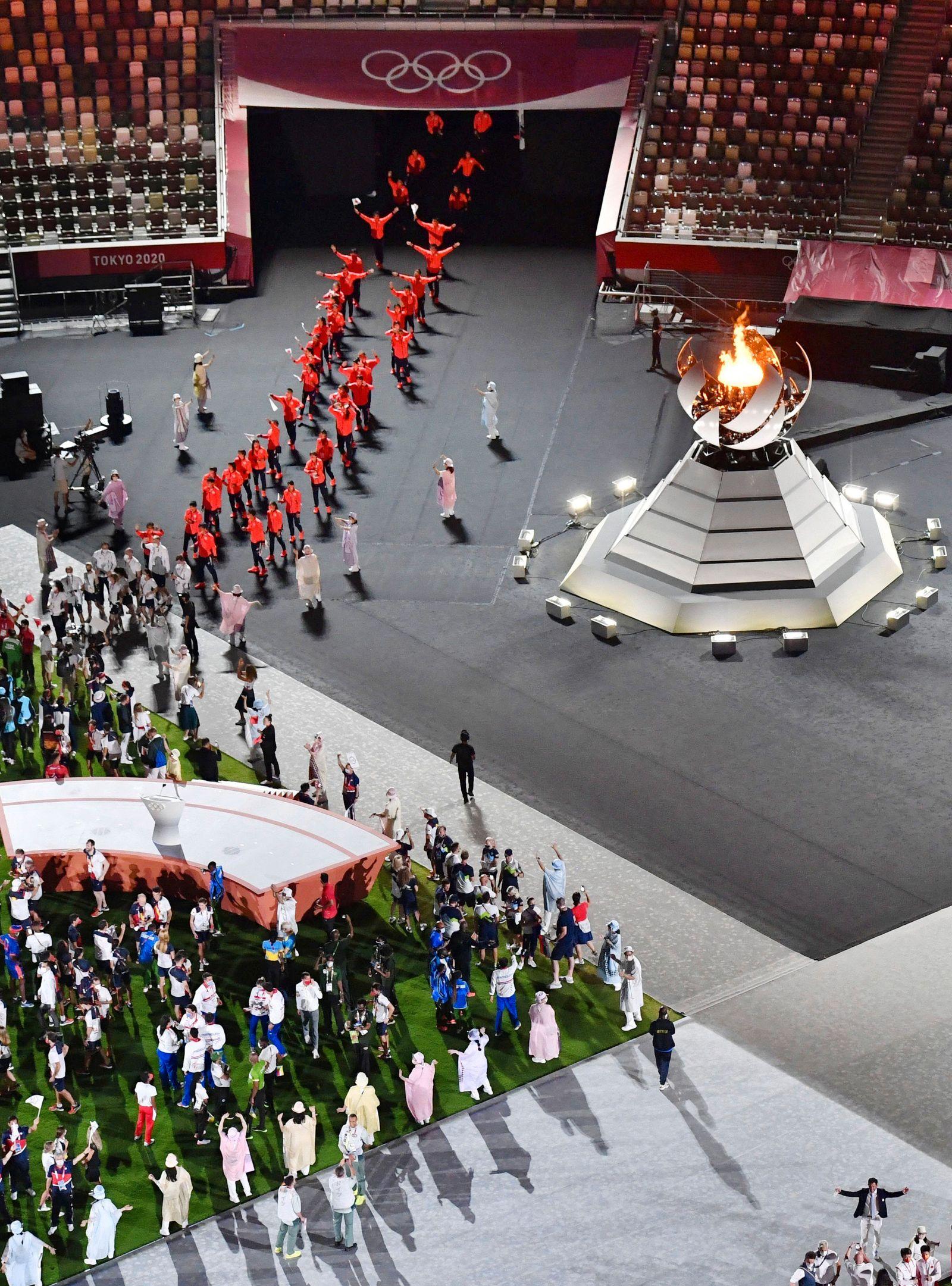 Tokyo Olympics: Closing Ceremony