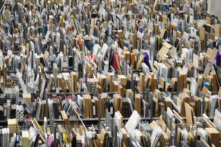 Amazon-Warenlager (Archivbild)