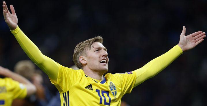 Schweden-Star Emil Forsberg