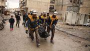 Deutschland nimmt syrischen Weißhelm-Chef auf