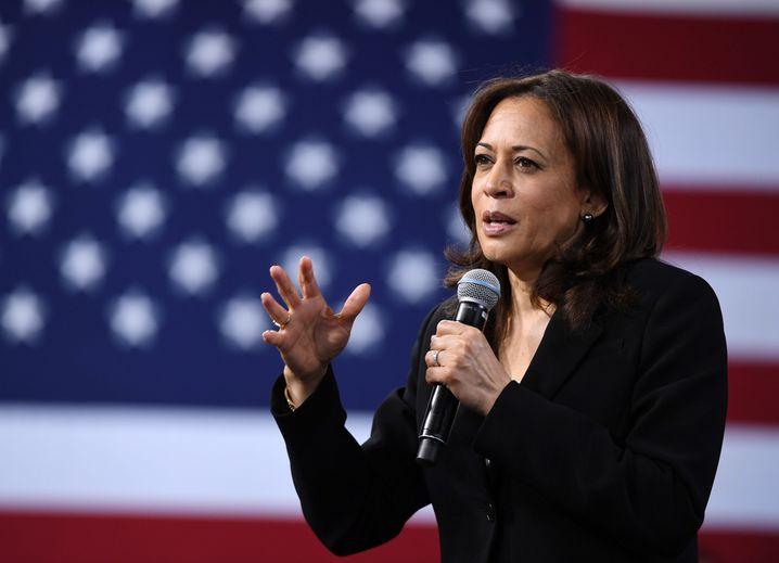 Senatorin Kamala Harris aus Kalifornien gilt als eine Kandidatin für den Posten der Vizepräsidentin in einer möglichen Regierung von Joe Biden