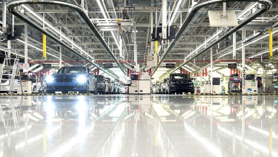 BMW-Werk in Leipzig: Positive Absatzzahlen aus China beflügeln die Aktienkurse deutscher Automobilhersteller