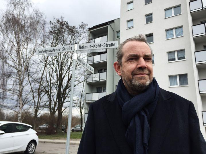 Eiko Adamek, Fraktionsvorsitzender der CDU-Stadtratsfraktion in Dessau. Hat Helmut Kohl 1996 persönlich getroffen.