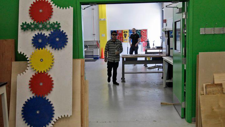 """Google-Werkstätten: """"Alles Gute kommt aus einer Garage"""""""