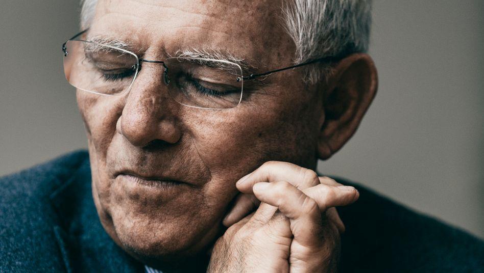Autor Schäuble 2015: »Wir sind in unserem Streben nach Perfektion schwerfällig geworden«