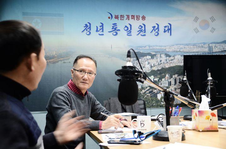 Kim Seung Chul, Direktor des nordkoreanischen Reformradios