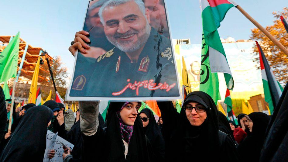 Demo in Iran