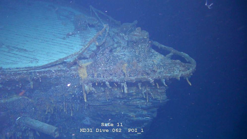 """SMS Scharnhorst"": Wrack vor den Falklandinseln"