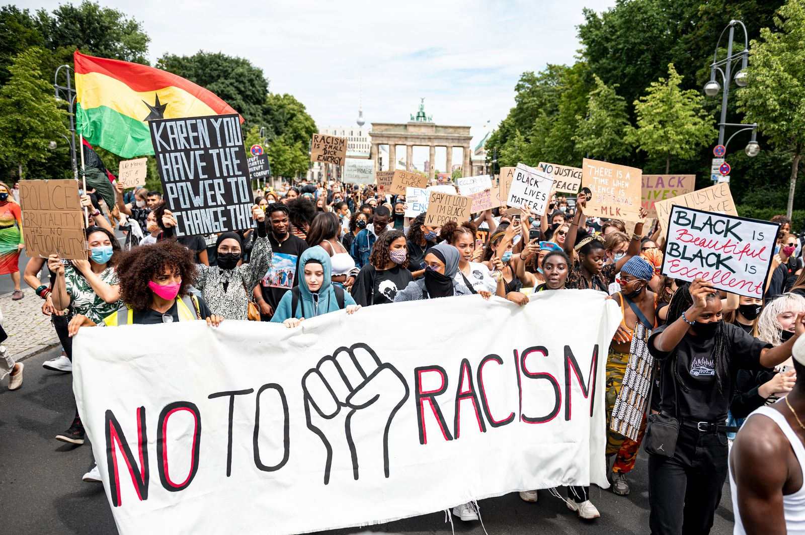 "Demonstration ""Black Lives Matter"" - Berlin"