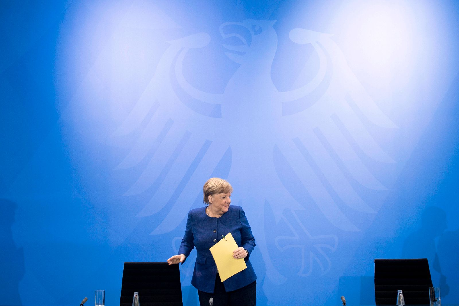 Angela Merkel, Press Call Coronavirus Crisis DEU, Deutschland, Germany, Berlin, 30.04.2020 Bundeskanzlerin Angela Merkel