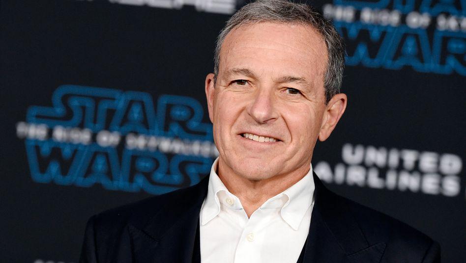 Medienkonzern: Disney-Boss Bob Iger tritt zurück