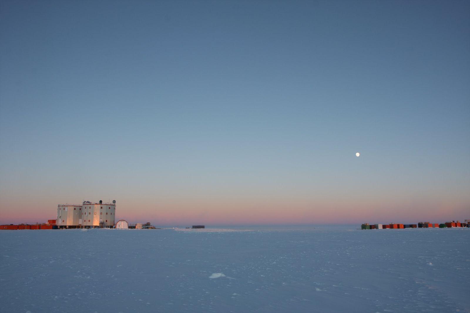 Station «Concordia in der Antarktis
