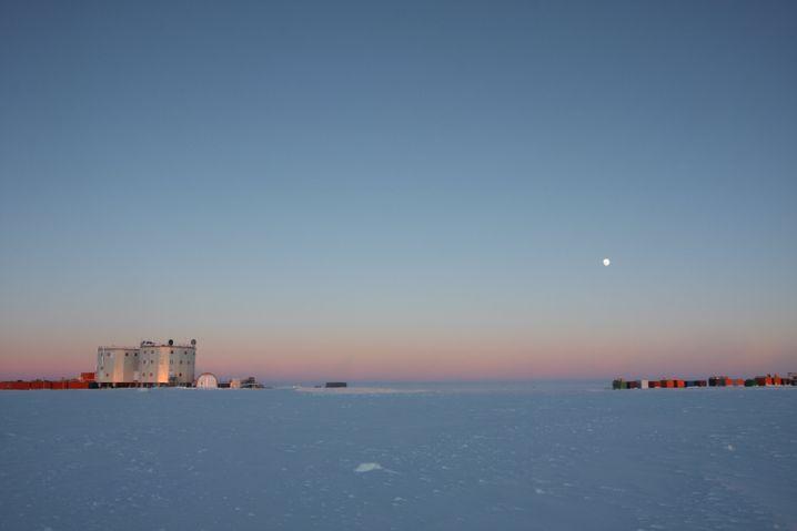 """""""Concordia""""-Forschungsstation in der Antarktis (Archivbild von 2012)"""
