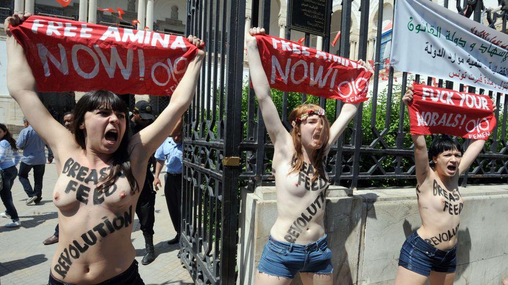 Tunesien: Femen-Aktivistin im Frauengefängnis Manouba