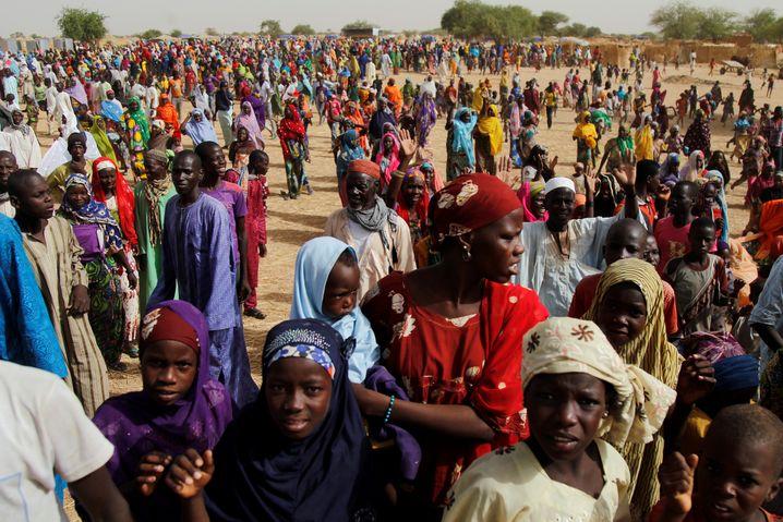 Flüchtlinge in Diffa, Niger