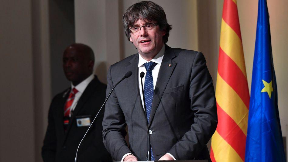 Carles Puigdemont (in Brüssel)