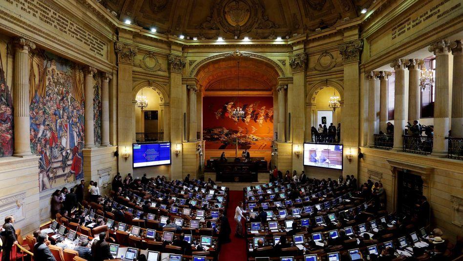 Repräsentantenhaus in Bogotá