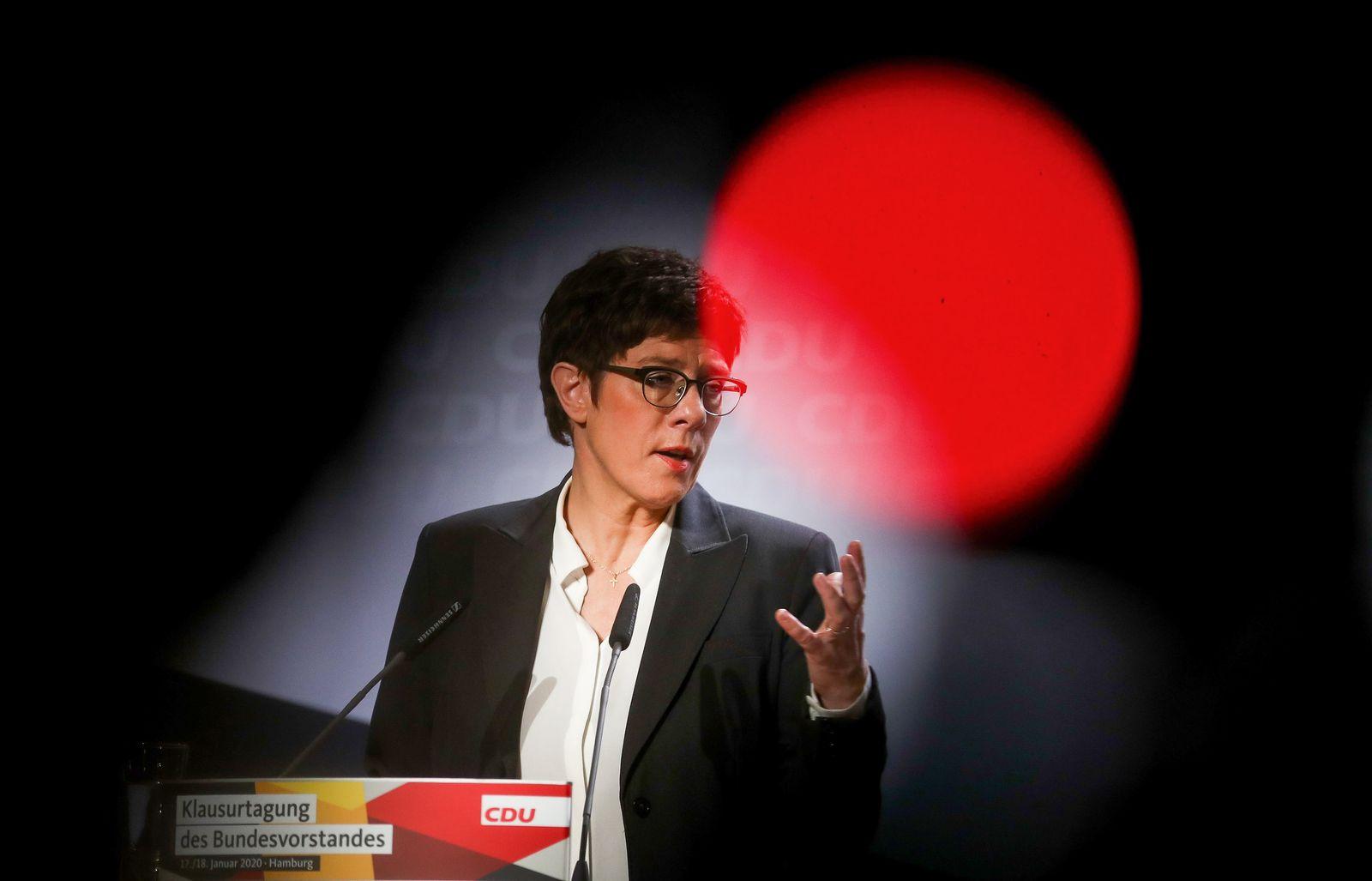 Abschluss Jahresanfangs-Klausur des CDU-Vorstands