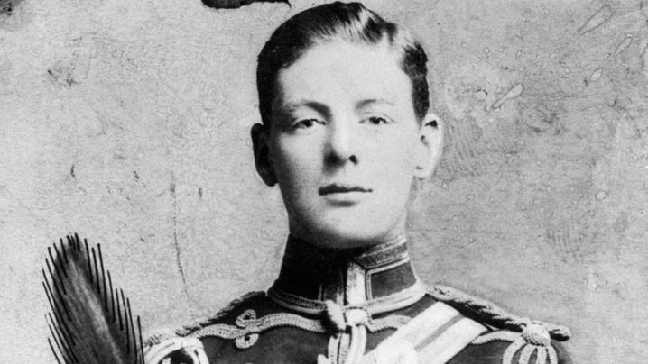 Churchill in jungen Jahren: Blaublütiger Berufsabenteurer