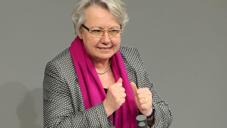 Bundesbildungsministerin Schavan: Schützenhilfe von den Wissenschaftsfunktionären