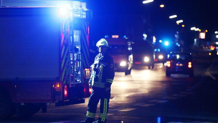 Bei Würzburg: Attacke im Regionalzug